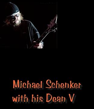 dean guitars performer michael schenker